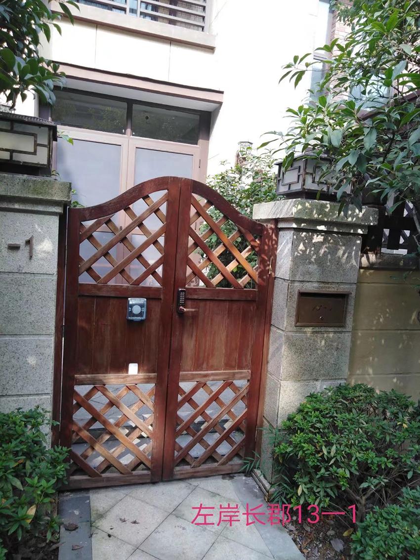 洋房别野入户门
